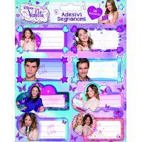 Disney Violetta füzetcímke