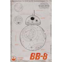 Btech Star Wars maxi poszter BB-8
