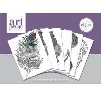 Pyramid Art Therapy színező poszter tárgyak