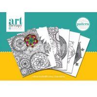 Pyramid Art Therapy színező poszter minták