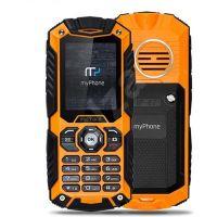 MyPhone Hammer Axe narancssárga okostelefon