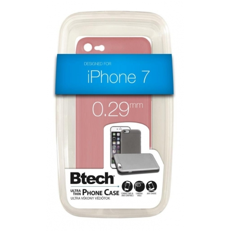 Btech ULTRA VÉKONY TOK iPHONE 7 ROSE GOLD