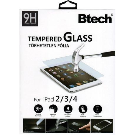 Btech Üvegfólia iPad 2/3/4 kijelzővédő fólia