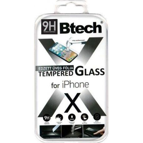 Btech Üvegfólia iPhone X kijelzővédő fólia