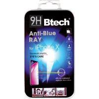 Btech Üvegfólia iPhone X Anti-Blue Ray kijelzővédő fólia
