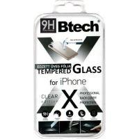 Btech Üvegfólia iPhone X/XS Back védőfólia