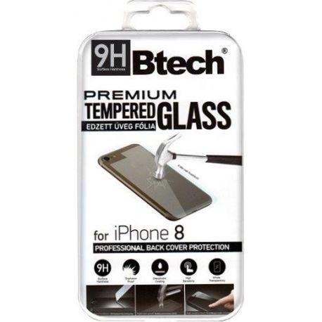 Btech Üvegfólia iPhone 8 Back védőfólia