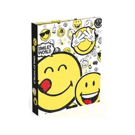 Smiley World gyűrűskönyv A4/2