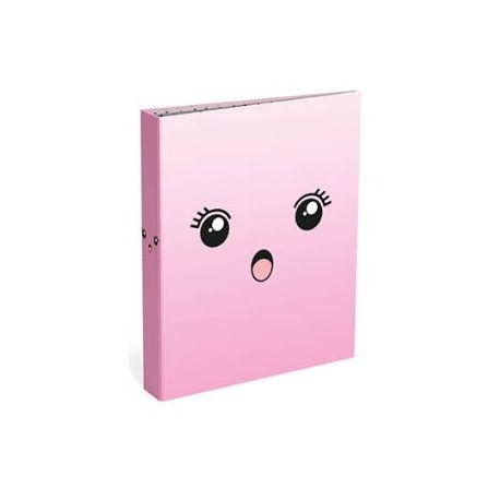 Bubble Cute gyűrűskönyv A4/2 pink