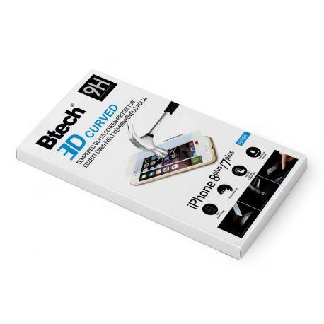 Btech Üvegfólia Iphone 7/8+ 3D fehér
