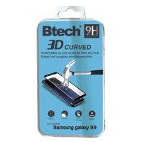 Btech Üvegfólia Samsung Galaxy S9 3D ívelt képernyővédő fólia