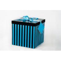 Btech Összehajtható ajándék doboz kék L