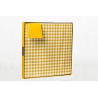 Btech Összehajtható ajándék doboz sárga XL méret