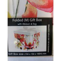Btech Összehajtható ajándék doboz virágos M