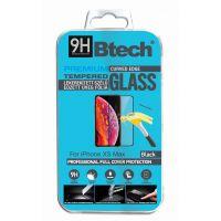 Btech Üvegfólia iPhone XS MAx lekerekített kijelzővédő fólia