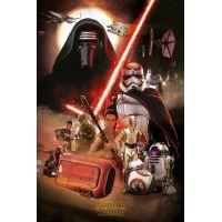 Star wars poszter maxi Montage
