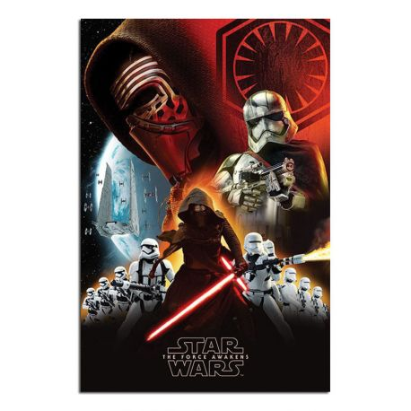 Star wars poszter maxi First Order