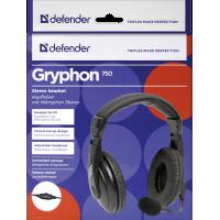 Defender Gryphon 750 FEKETE