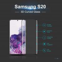 Btech Üvegfólia Samsung S20 3D ívelt képernyővédő fólia