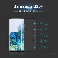 Btech Üvegfólia Samsung S20+ 3D ívelt képernyővédő fólia