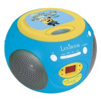 Lexibook Gru / Minyonok CD lejátszó FM rádióval RCD102DES