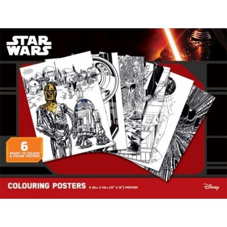 Pyramid Star Wars színező poszter