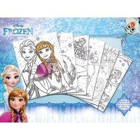 Pyramid Frozen színező poszter