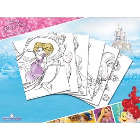 Pyramid Disney hercegnő színező poszter