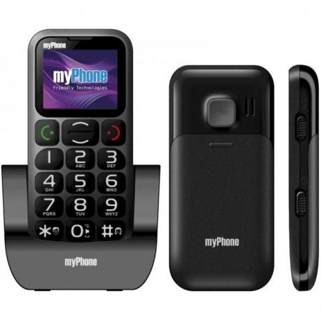 MyPhone 1045 Simply Black mobiltelefon