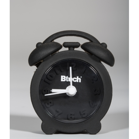 Btech mini szilikon ébresztőóra fekete színben 3fabe5d39b