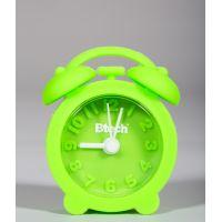 Btech mini szilikon ébresztőóra zöld színben