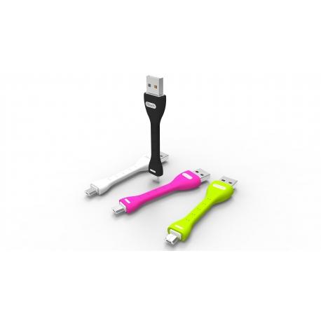 Btech BTU-5040 USB kábel, zöld