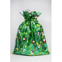 Btech húzózsinóros műanyag ajándék táska, XL-es méret