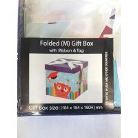 Btech Összehajtható ajándék doboz masnival M méret