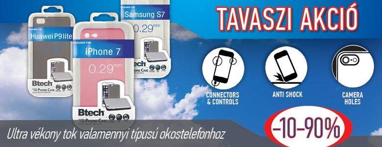 Tavaszi Akció - Btech ultravékony telefontok