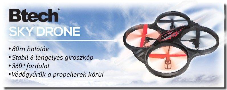 Btech BD-252 Sky King drone